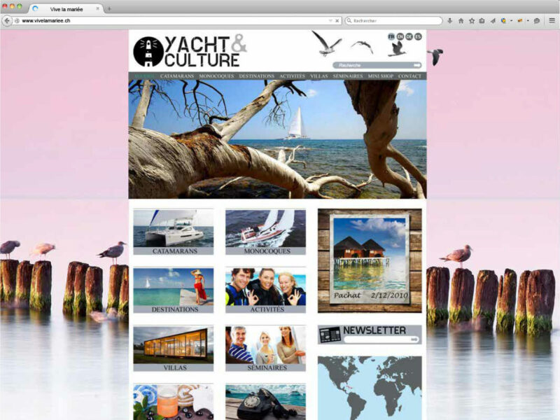 Création site internet Nyon