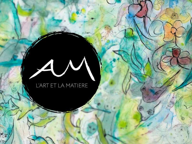 Création du logo et de la charte graphique l'Art et la Matière
