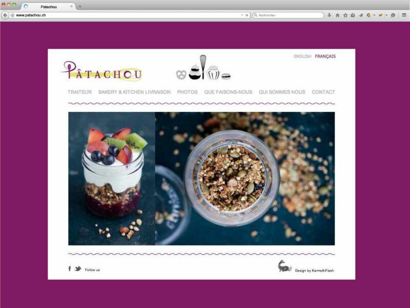 Gland création site internet Patachou