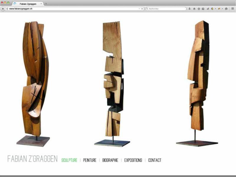Nyon création site internet Fabian Z'Graggen