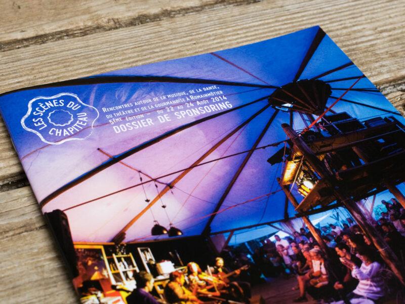 Brochure de présentation des Scènes du Chapiteau 2014