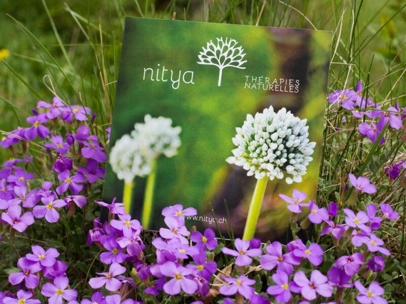 Nyon création flyers Nitya