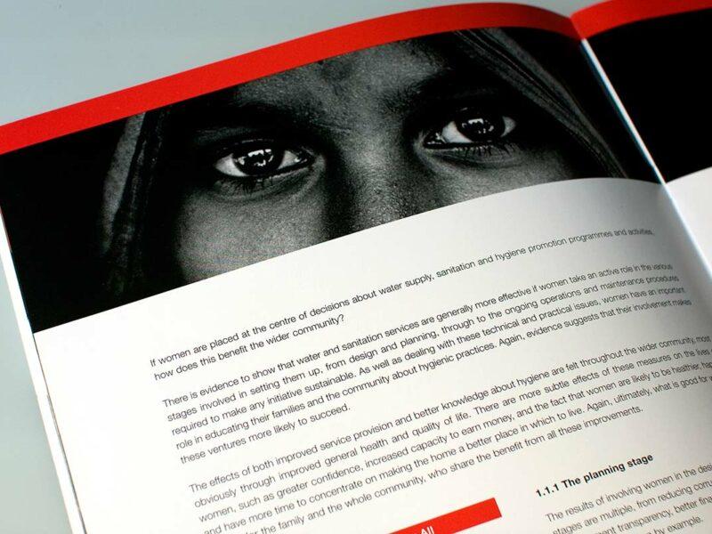 Genève création graphique rapport annuel organisation internationale
