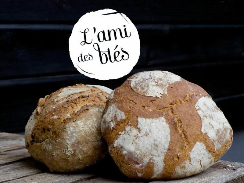 Création logo boulangerie L'ami des Blés