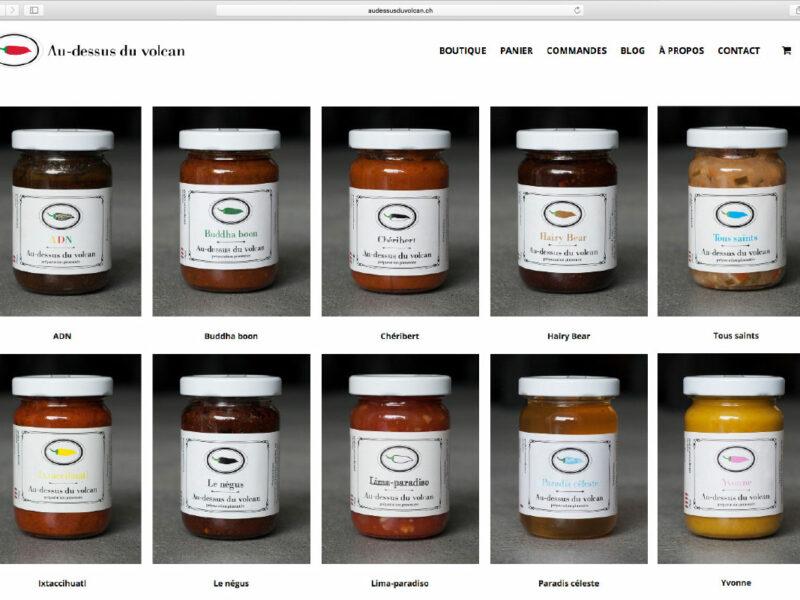 Genève création boutique en ligne