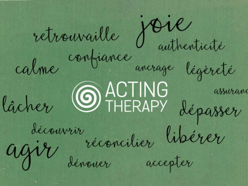 Graphiste Lausanne creation logo Acting Therapy