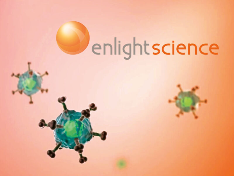 Gland création logo Enlight Science