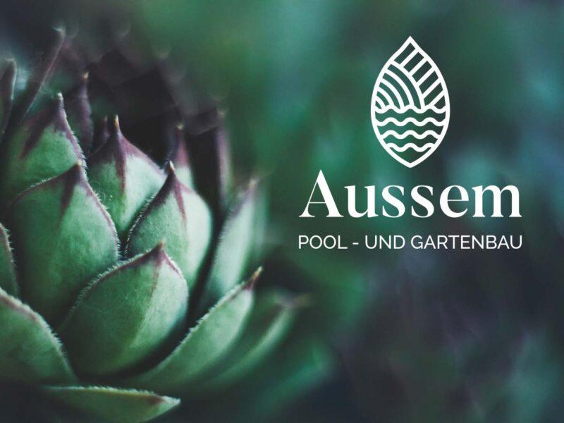 Nyon création logo paysagiste Aussem Gartenbau